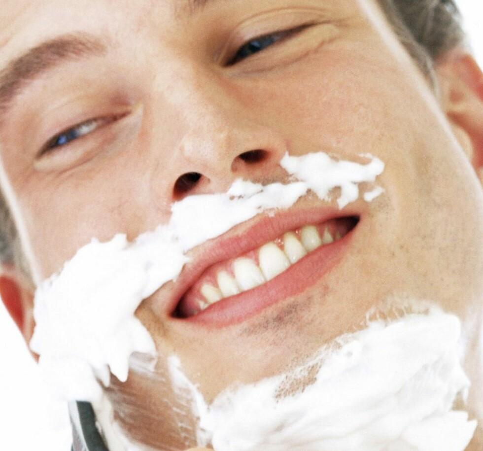 Virker hårene som vokser ut etter barbering tykkere? Det er bare tull. Colourbox.com/Illustrasjonsfoto   Foto: colourbox.com