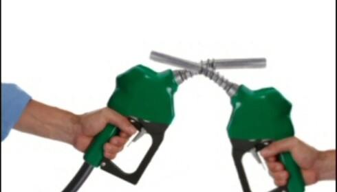 Klar, ferdig, bensinkrig! Illustrasjonsfoto: iStockphoto.com