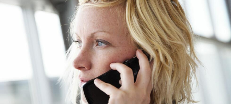 Bruk av mobil to eller tre ganger om dagen er nok til å øke risikoen for at barnet kan utvikle hyperaktivitet og andre atferdsproblemer. Illustrasjonsoto: Colourbox.com Foto: Foto: colourbox.com