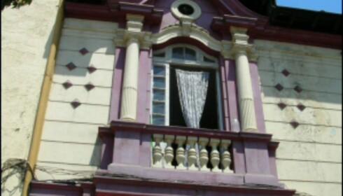 Klassisk fasade fra Santiago, Chile. <i>Foto: Nicolás Ramírez</i> Foto: Nicolás Ramírez
