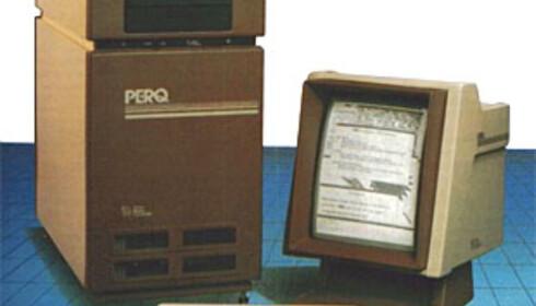 Perq - grafisk arbeidsstasjon fra 1982