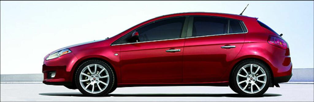 Fiat Bravo har et CO2-utslipp på 119 gram per kilometer.