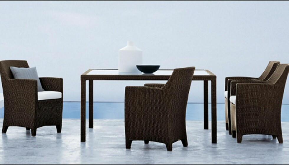 Barcelona-gruppen er en av Dedons bestselgere. Bordene koster fra 14.000 kroner, stolene 11.975 kroner per stk fra Expo Nova. <i>Foto: Produsenten</i> Foto: Dedon