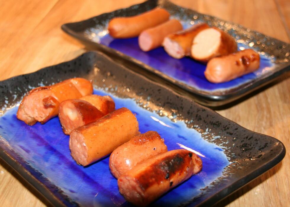 DinSide testet ti pølsesorter, alt fra vanlige wienerpølser til kalkun-, kylling- og laksepølser.