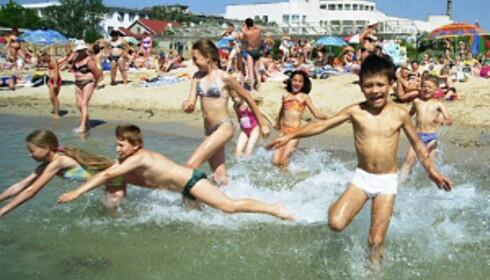 Hvor mange uker i året kan du regne med å reise til en slik strand?? Illustrasjonsfoto: Colourbox.com