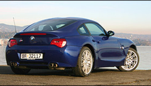 GULL: Førsteplassen gikk til BMW, her representerte ved den fantastiske BMW Z4 M Coupé.