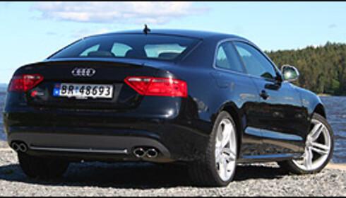 BRONSE: Tredjeplass gikk til Audi, her representert ved en av de beste Audi-modeller noensinne; S5.