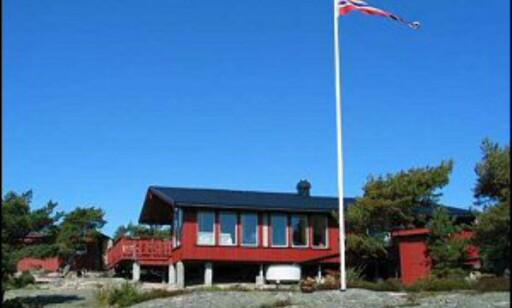 Hytte med vidt havutsyn på Spjærøy. Foto: Privat
