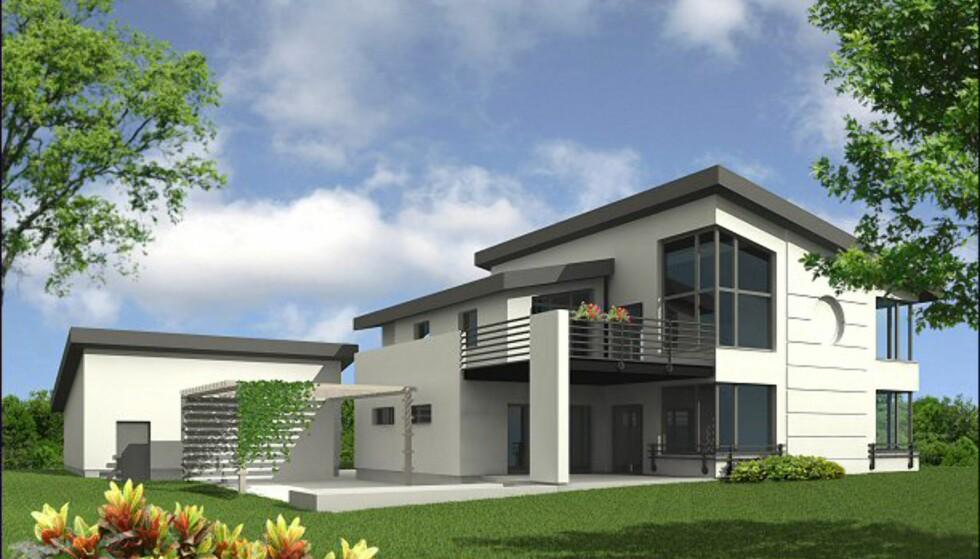 Dimmen Villa fra Urbanik Hus. Bildet er gjengitt med tillatelse fra produsenten.