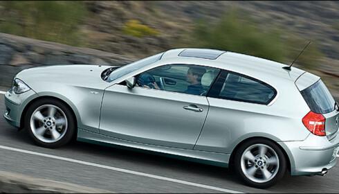BMW 1-serie er den foreløpig eneste bilen som har den nye dieselmotoren på 2,0 liter og 204 hester. Navnet er 123d.