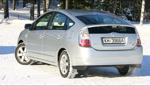 Toyota Prius vant i miljøklassen