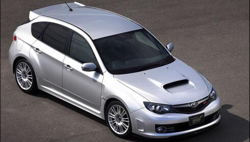 Subarus 2,5-liter sitter i blant annet Impreza WRX STI
