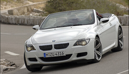 V10-motoren som sitter i blant M5 og M6 vant det største delklassen