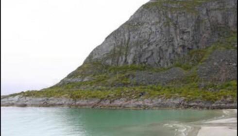 Rørvik badestrand ved Henningsvær i Lofoten: Norges mest sexy? Foto: Kristin Sørdal