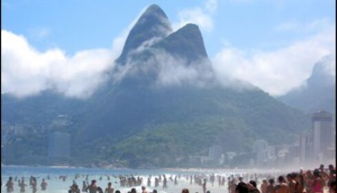 Det koker på Ipanema Beach i Rio. Foto: Andre Carvalho