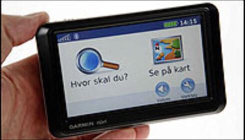 """//www.dingz.no/php/art.php?id=522395"""">Trykk her for å lese hele testen av Garmin Nüvi 760/770 Foto: Per Ervland"""