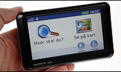 Trykk her for å lese hele testen av Garmin Nüvi 760/770 Foto: Per Ervland