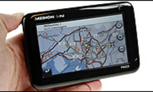 Trykk her for å lese hele testen av Medion GoPal P4425 Foto: Per Ervland