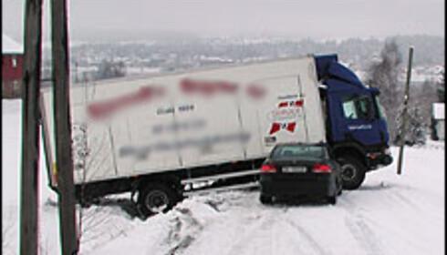 Mange forsøker å kamuflere at bilen har hatt en skade. Illustrasjonsbilde