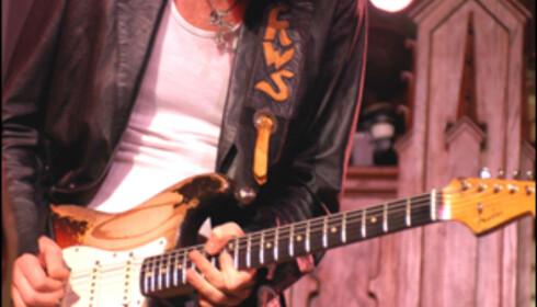 Kenny Wayne Shepherd spiller på Notodden. Foto: Promobilde