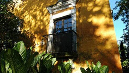 Mexico har stabil økonomi selv om USA har hatt problemer den siste tiden. Nå tro derimot ekspertene at det snur. Her en tradisjonell bolig i Campeche.