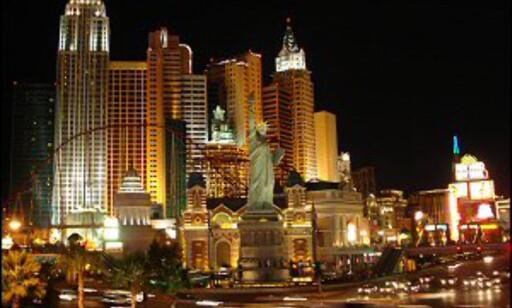 Herlig kunstig i Las Vegas. Foto: Sinead McEwen