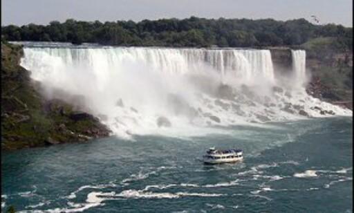 Mektige Niagara Falls. Foto: Ji Ro