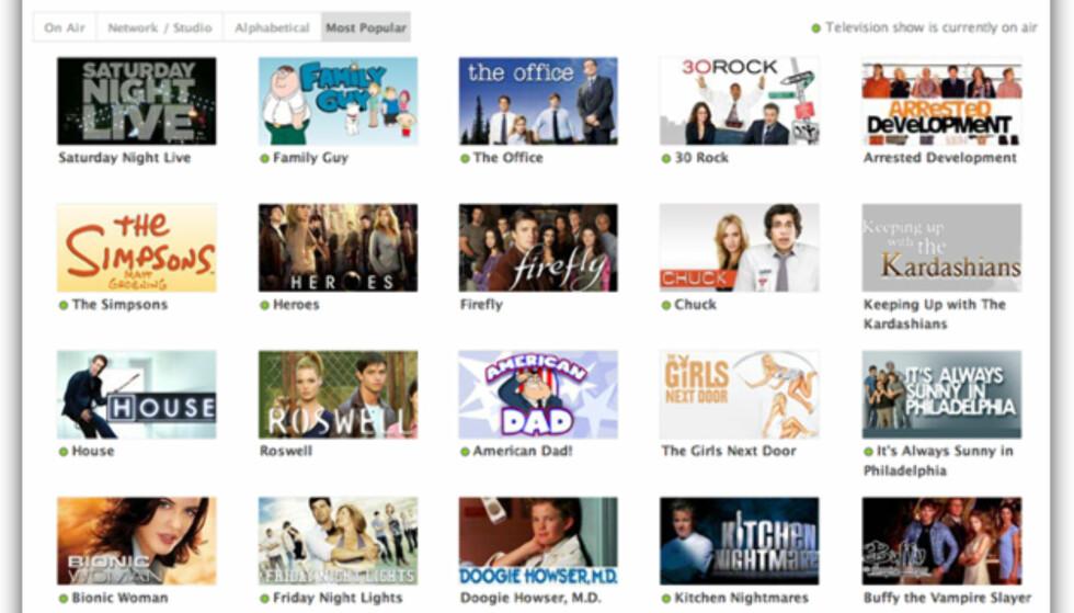Hulu - gratis nett-tv