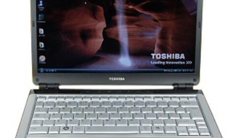 Toshiba Satellite U300-144 imponerer dessverre ikke støymessig.