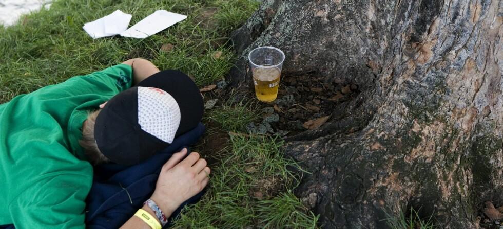 Ungdom kan påføre seg skader i fylla dersom foreldrene ikke følger med. Colourbox.com/ Illustrasjonfoto Foto: KEYSTONE/MAXPPP