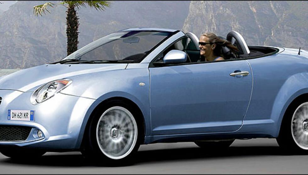 Alfa Me.To i kupéverjson kommer til Norge mot slutten av året. Kabriolet er ventet i 2011.