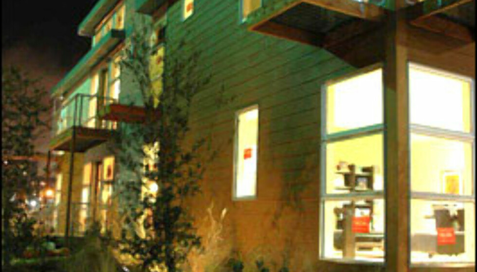 Clever House har fått skryt for sine effektive og rimelige huspakker. Rundt 200.000 kroner koster et ferdig hus.  Foto: Fabprefab.com