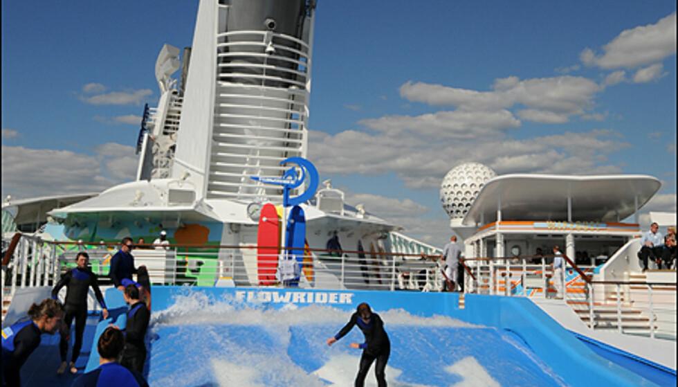 En cruiseferie på Independence of the Seas behøver ikke bety at du sitter på rumpa hele dagen.