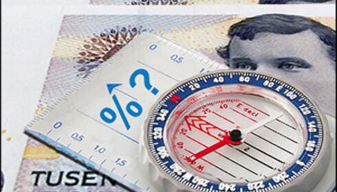 """""""Alle"""" venter renteøkning i dag. Men ikke alle er enige om rentens vei videre... Bilde: Per Ervland."""