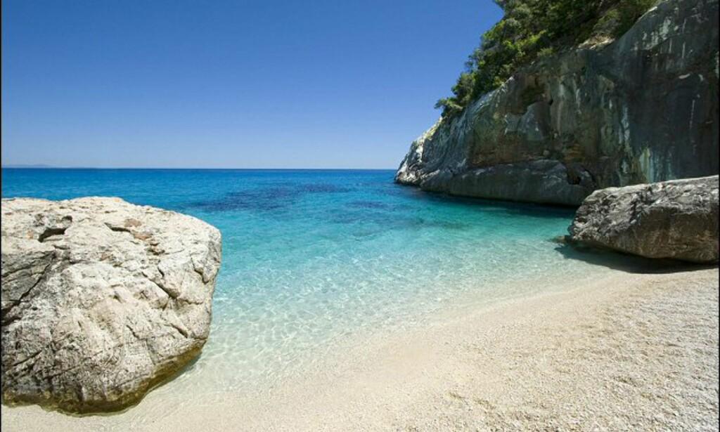 Cala Goloritze er en av Sardinias mange strandperler. Foto: www.photito.com