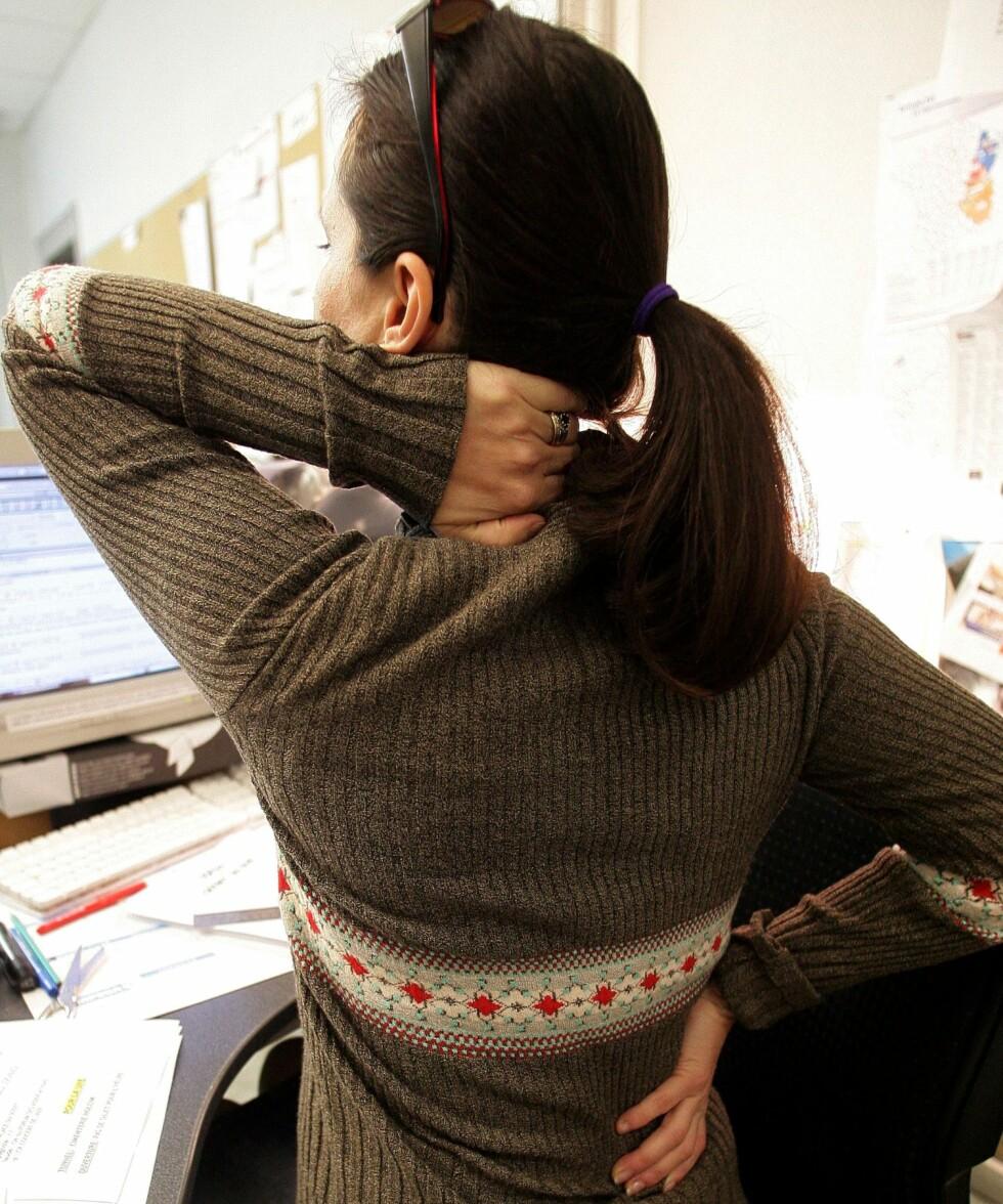 Aktivitet er ofte bedre enn rodersom du har vondt i ryggen/Colourbox.com Foto: Colourbox.com