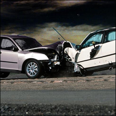 Å kjøre dagen derpå kan få fatale konsekvenser/illustrasjonfoto Foto: SAAB