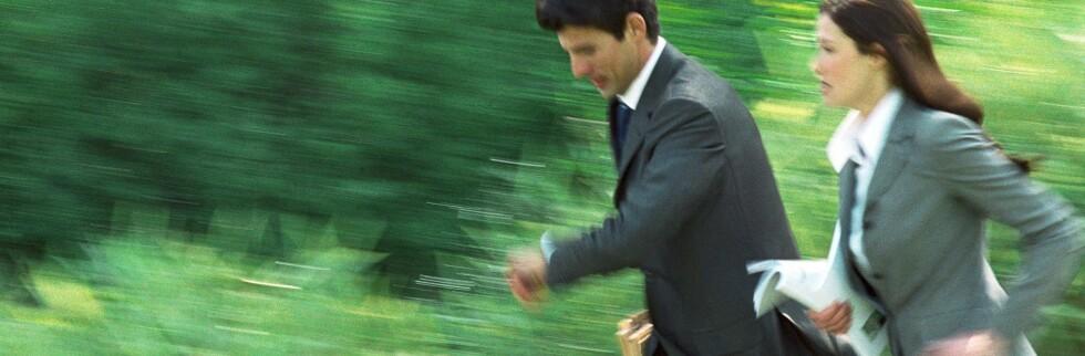 Fra det ene til det andre. Med flere karrierer slipper du å kjede deg, men du må tåle litt stress. Foto: Colourbox.com Foto: colourbox.com