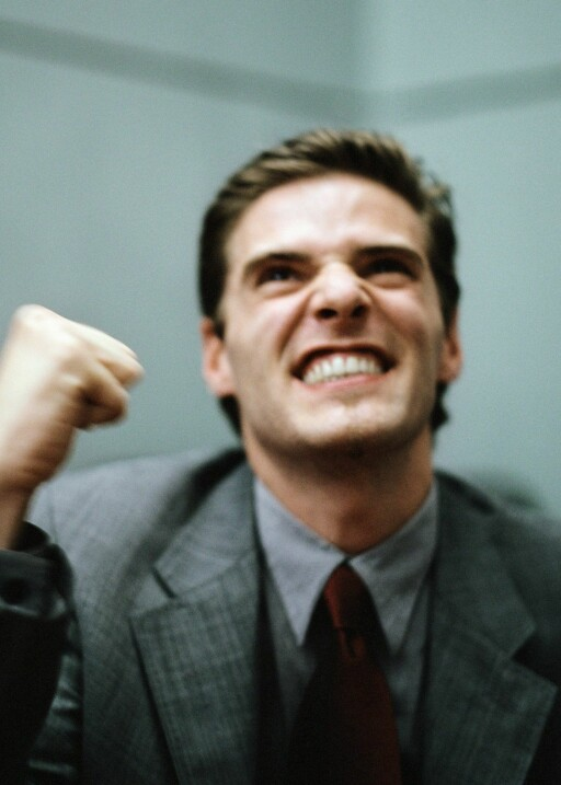 Et høyt testosteronnivå kan ifølge forskere gi  god økonomisk uttelling.  Illustrasjonsfoto: colourbox.com                 Foto: Foto: colourbox.com