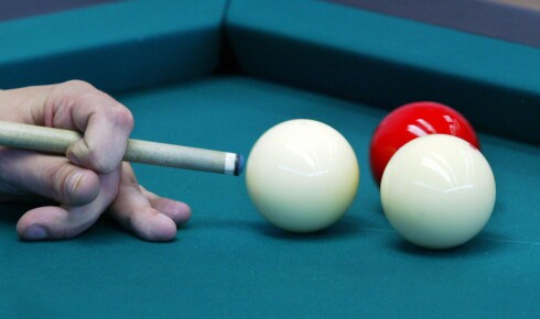 For mange menn kan et biljardbord være den avgjørende faktoren for hvorfor de velger en bestemt bolig. Colourbox.com Foto: Foto: Colourbox.com