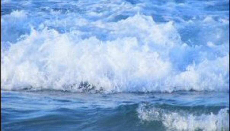 Bølgen som veltet båten kom overraskende. Havet var blikkstille like før. Illustrasjonsfoto.