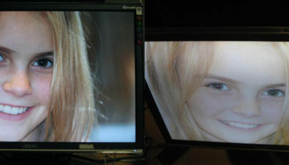 Dyr eller billlig LCD - ser du forskjellen?