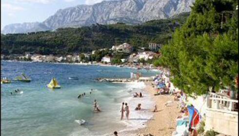 Kroatia har mange perler langs kysten. Her fra Podgora. Foto: Jure Sucur
