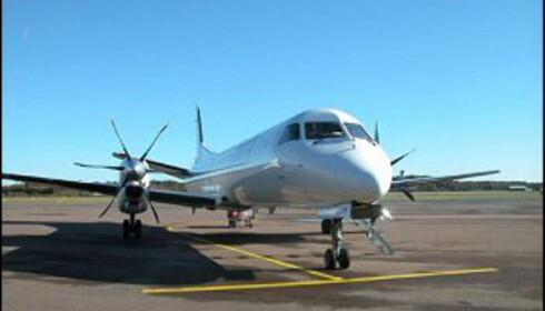 Golden Air skal midlertidig fly fra Stord i sommer, så stepper forhåpentligvis Sun Air inn. Foto: Golden Air