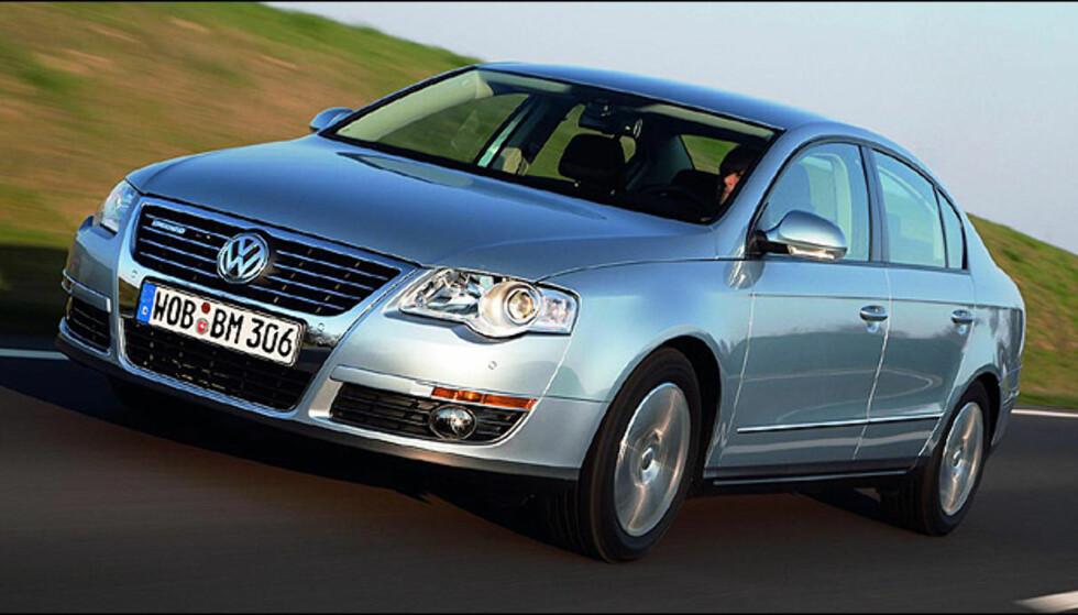 Hovedfinalist: Volkswagen Passat 1.9 TDI BlueMotion