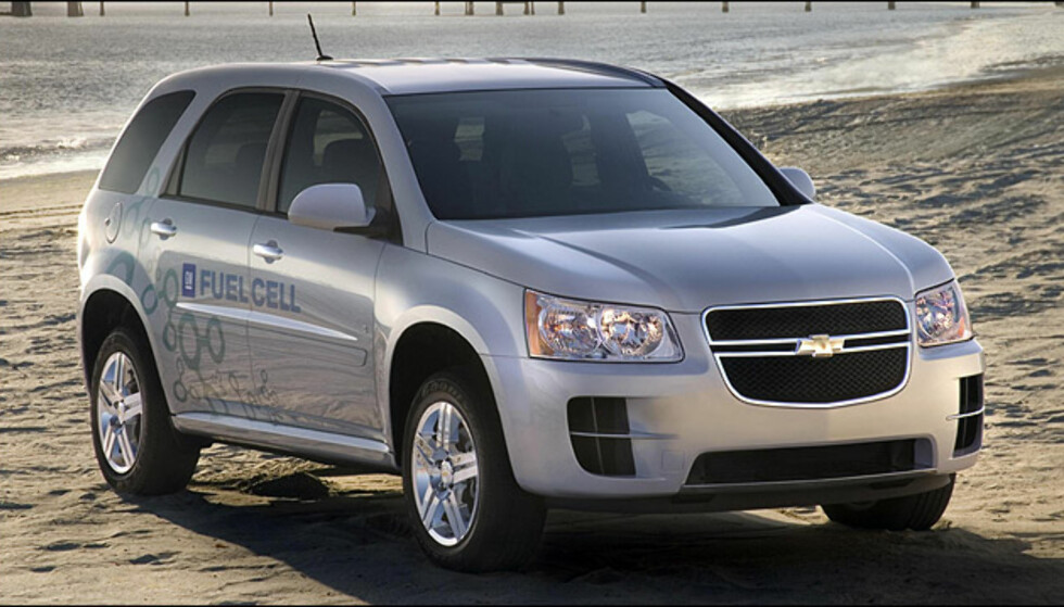 Chevrolet Equinox Fuel Cell Electric Vehicle