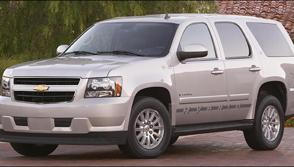 Chevrolet Tahoe/GMC Yukon hybrid