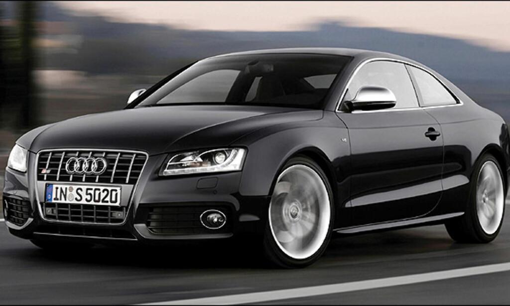 Tredjeplass: Audi S5 (57)
