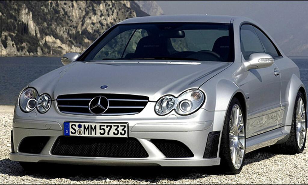 Fjerdeplass: Mercedes-Benz CLK 63 AMG Black Series (53)