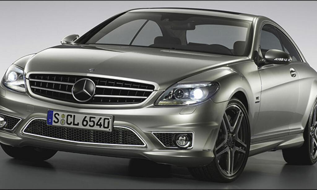 Sjetteplass: Mercedes-Benz CL 63 AMG (Bildet viser en CL 65 AMG) (44)